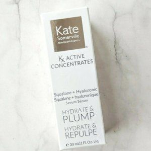 🆕Kate Somerville Kx Active Concentrates Squalane + Hyaluronic Serum 🆓🎁